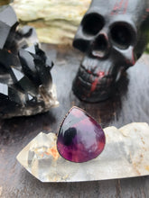 Load image into Gallery viewer, Teardrop Amethyst Ring - Size 8 - Serpent + Sage