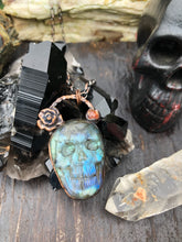 Load image into Gallery viewer, Labradorite Skull Queen - Serpent + Sage