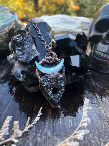 The Witching Hour | Black Crystal Jewelry