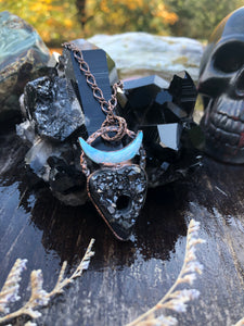 The Witching Hour | Black Crystal Jewelry - Serpent + Sage