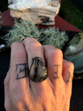 Load image into Gallery viewer, Rutilated Quartz Ring - Serpent + Sage