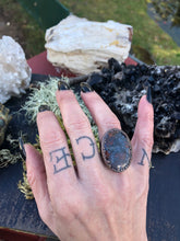 Load image into Gallery viewer, Saint John Agate Filigree Ring | Size 6.75 - Serpent + Sage