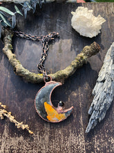 Load image into Gallery viewer, Bumblebee Jasper Crescent Moon - Serpent + Sage