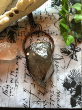 Load image into Gallery viewer, Raw Smokey Quartz Point Pendant - Serpent + Sage