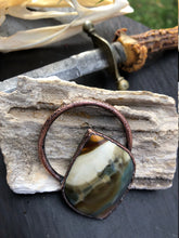 Load image into Gallery viewer, Rare Morrisonite Pendant | Morrison Ranch Old Stock Jasper - Serpent + Sage