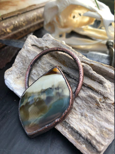 Rare Morrisonite Pendant | Morrison Ranch Old Stock Jasper - Serpent + Sage