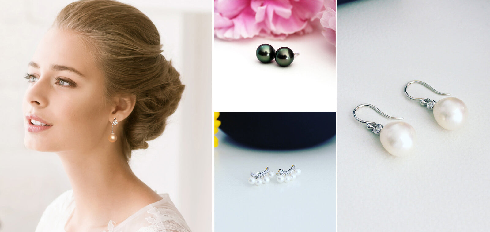 Image result for Pearl Earrings - Feel Elegance with Your Casual Outfit