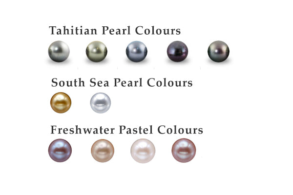 Natural Pearl Colours