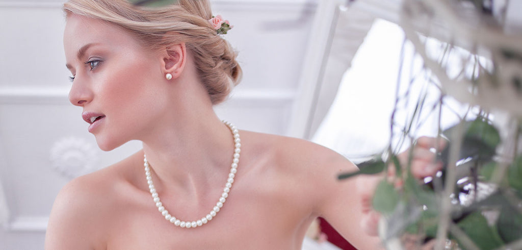 Wedding Jewellery How to Wear Pearls