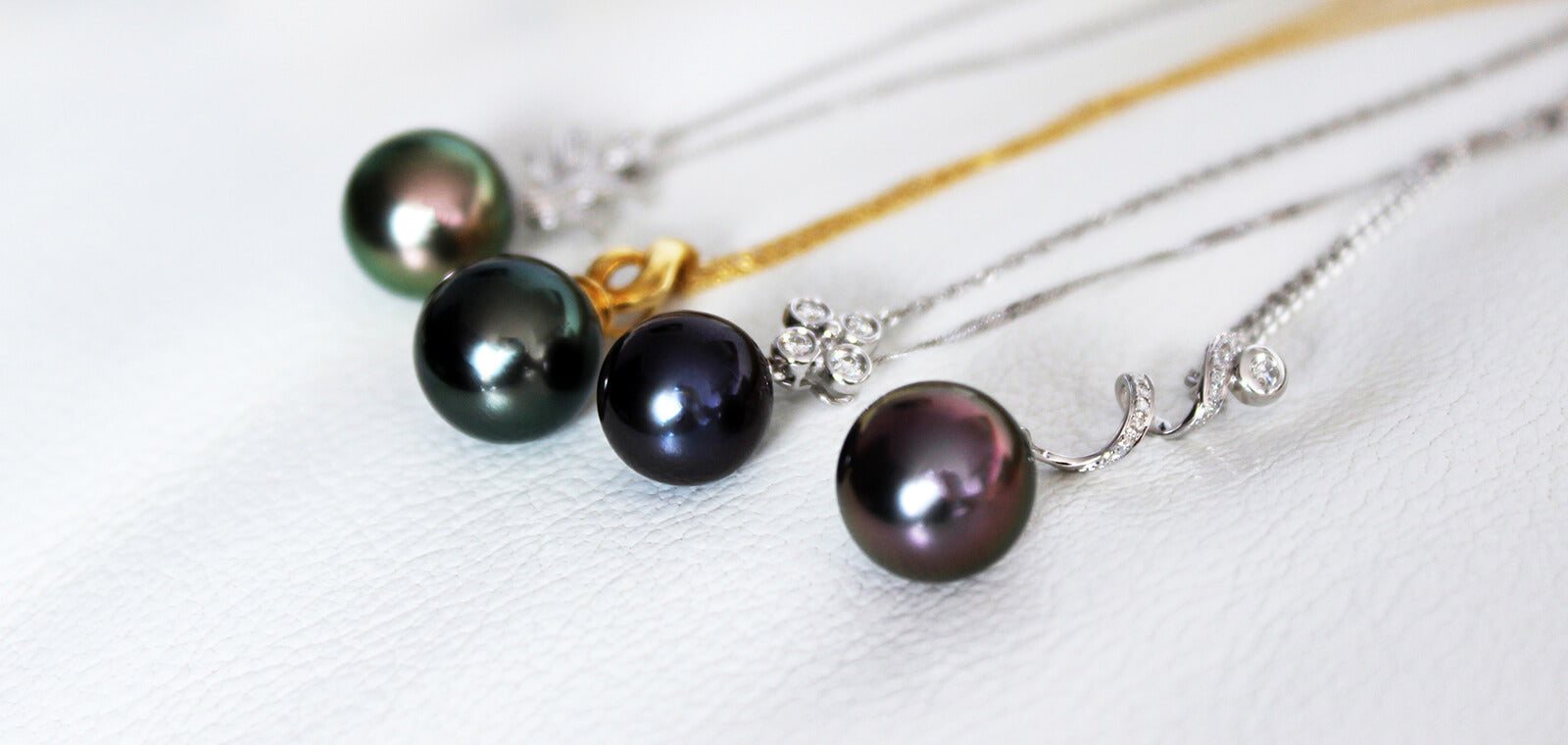 Natural Tahitian Pearl Colour