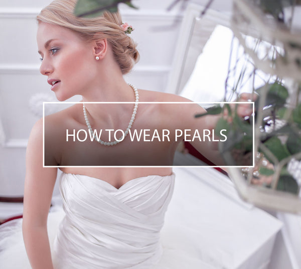 Wedding Jewellery Ideas Pearls