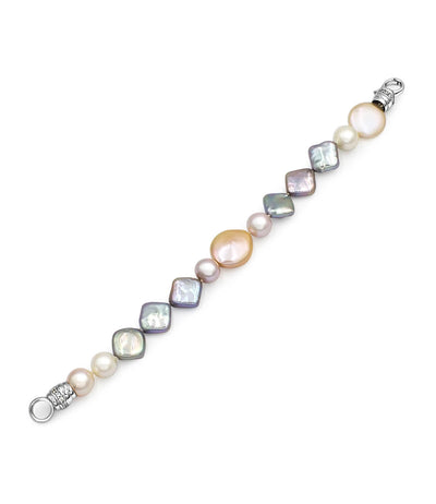 Modern Chic Astral Trio Pearl Bracelet