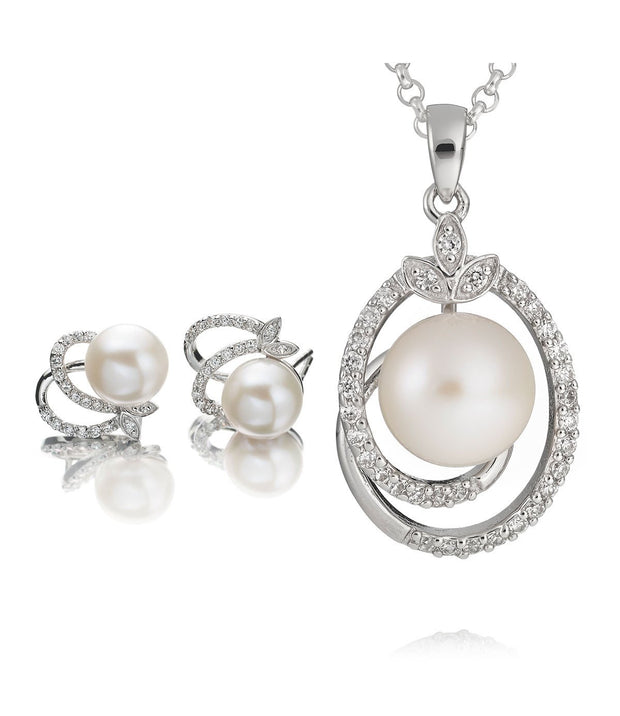 Exquisite Freshwater Pearl Necklace Set