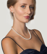 Freshwater Pearl Necklace Grace Classic Sterling Silver