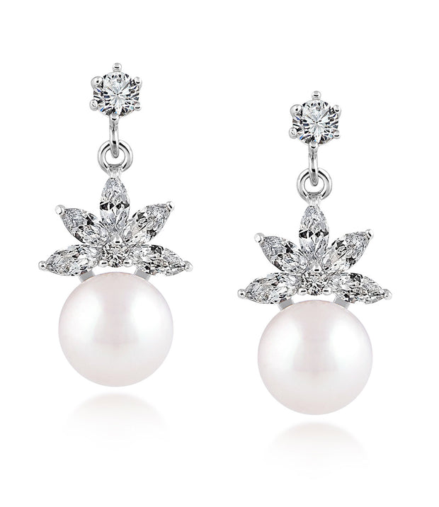 Lotus Pearl Drop Earrings_2