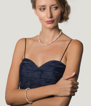 Luxury 18ct Gold Freshwater Pearl Jewellery Set_2