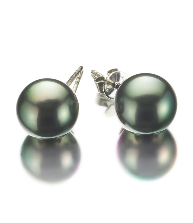 Luxury Tahitian Peacock Pearl Earrings_2