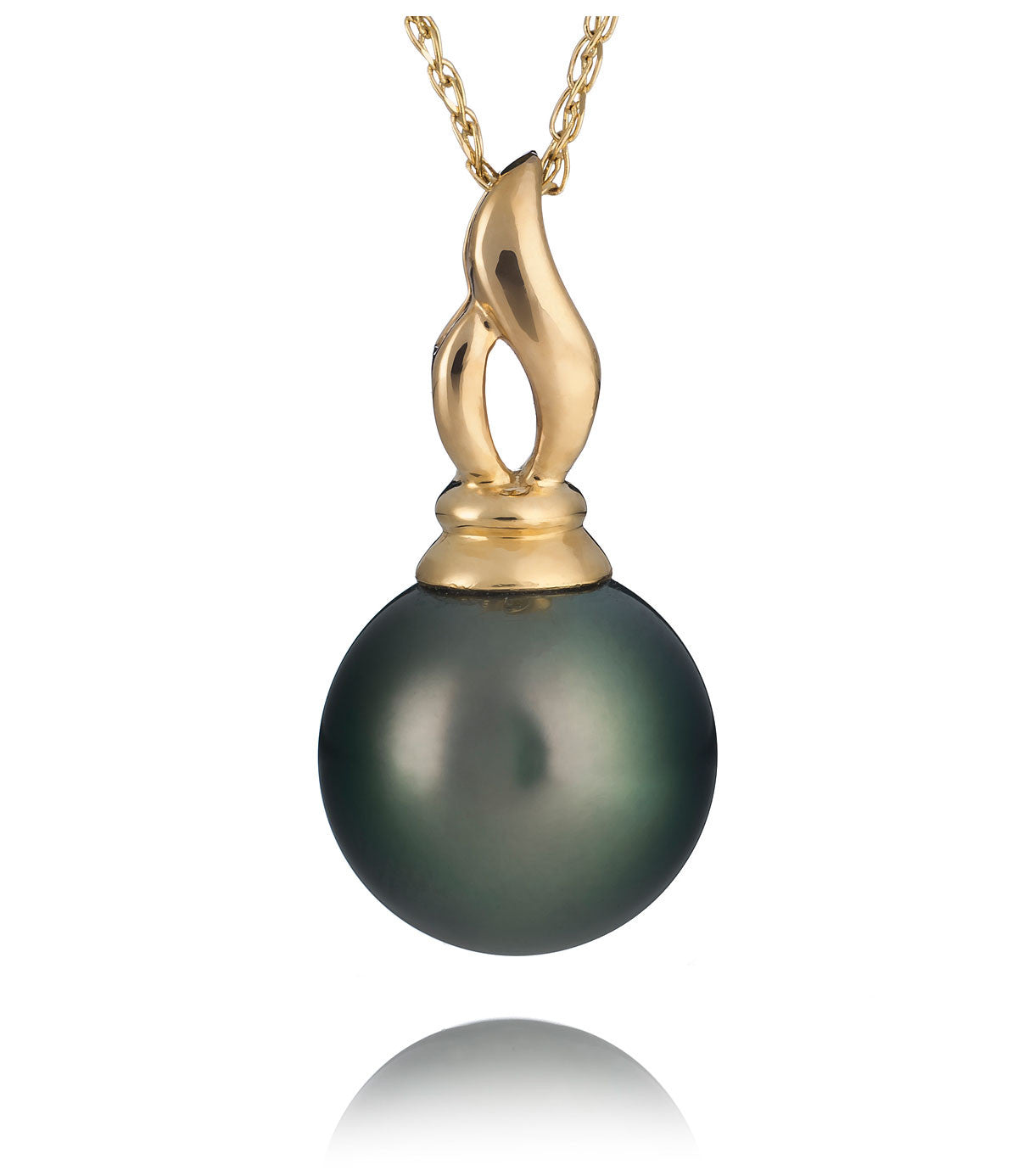 Muse tahitian pearl pendant necklace pearl lang muse tahitian pearl pendant necklace mozeypictures Gallery