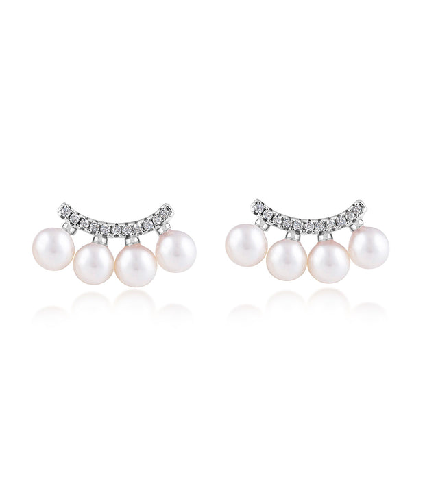 Starlight Pearl Ear Climber Earrings_2