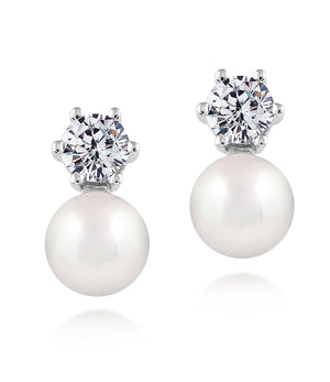 Stellar Classic Pearl Earrings