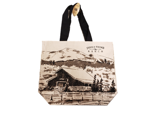 Devil's Thumb Ranch Custom Tote