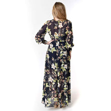 Load image into Gallery viewer, Floral Print Maxi Dress