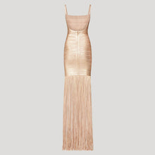 Load image into Gallery viewer, Summer Maxi Tassels Dress
