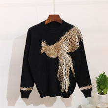 Load image into Gallery viewer, Handmade Beaded Sequinned Tracksuit
