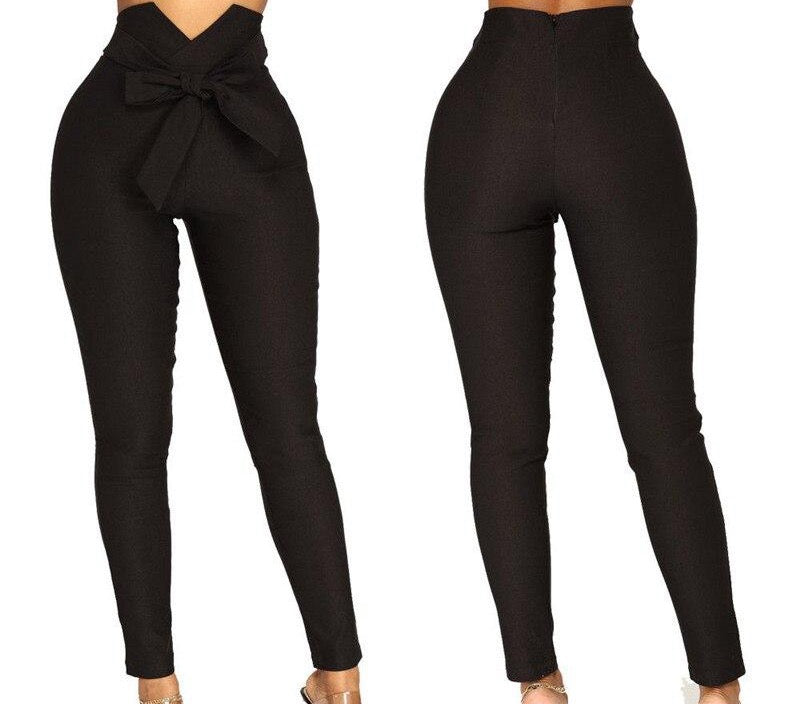 High Waist Casual Pants