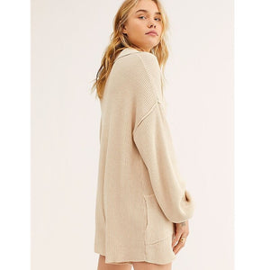 Long-Sleeved Sweater Casual Playsuit