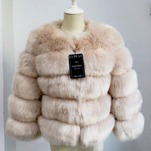 Load image into Gallery viewer, FAUX Mink Coat