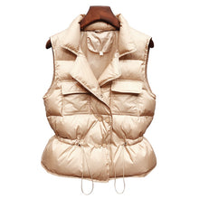 Load image into Gallery viewer, Ultra Light Down Vest Women Short Vest