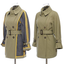 Load image into Gallery viewer, Double-sided British Style Trench Coat