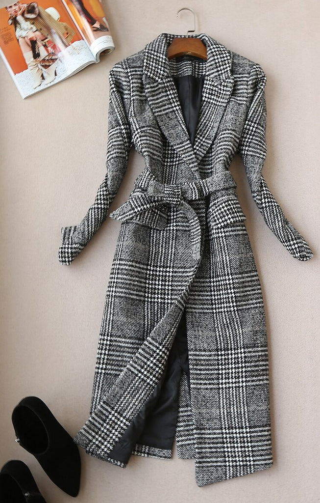 New temperament slim wool Suit