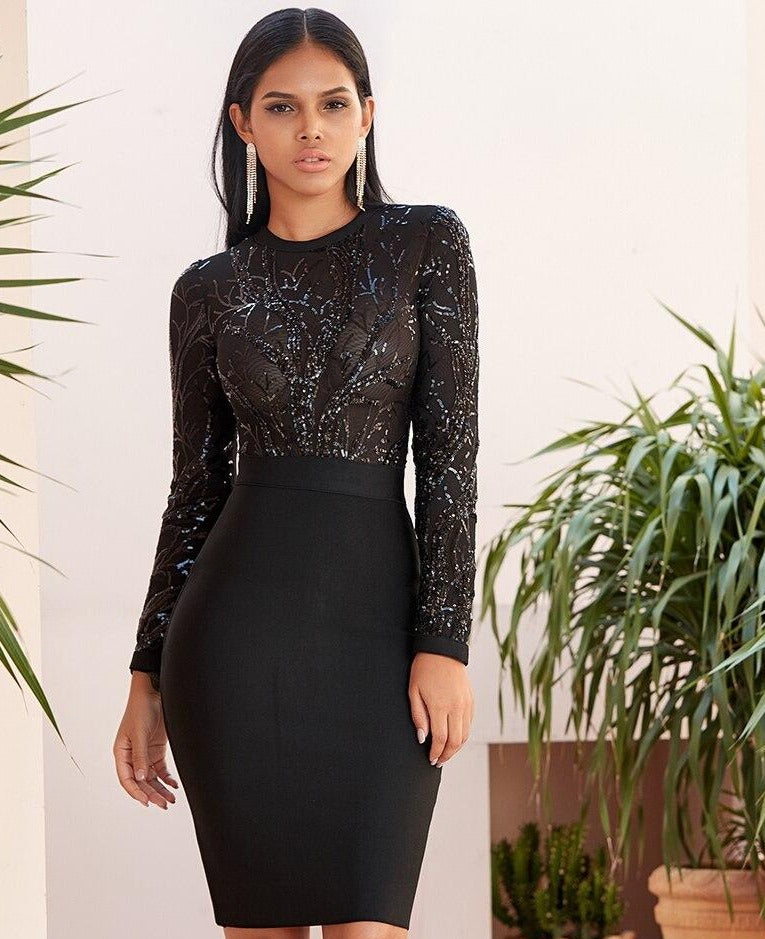 The Glam Midi Dress