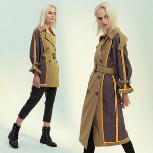 Double-sided British Style Trench Coat