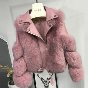 Luxury Fox Fur Coat