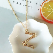 Load image into Gallery viewer, A-Z Initial Pendant Necklace
