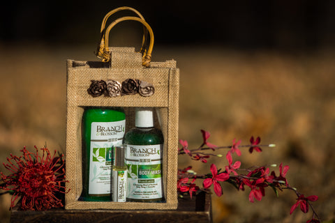 PureEarth Gift Set: 8oz Lotion, Body Wash & Perfume Oil
