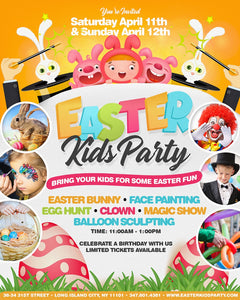 Saturday Easter Kids Party