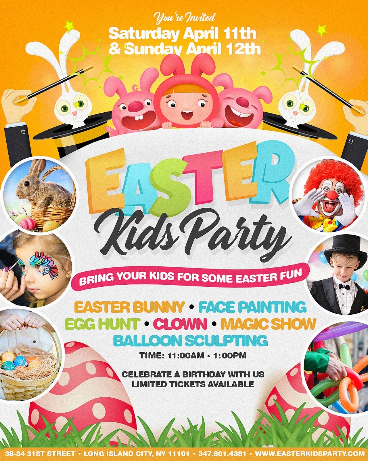 Sunday Easter Kids Party