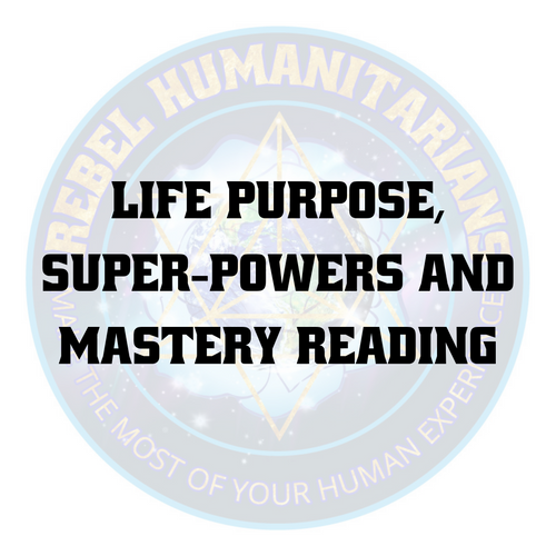 Life purpose, Super-Powers and Mastery Reading