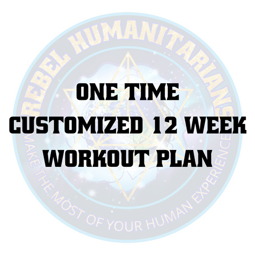 One time customized 12 week workout plan