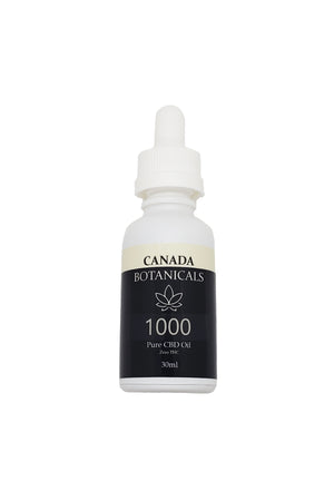 Pure CBD Oil 1000mg Zero THC