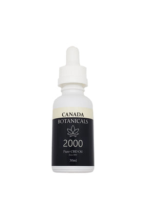Pure CBD Oil 2000mg Zero THC