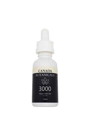 Pure CBD Oil 3000mg Zero THC