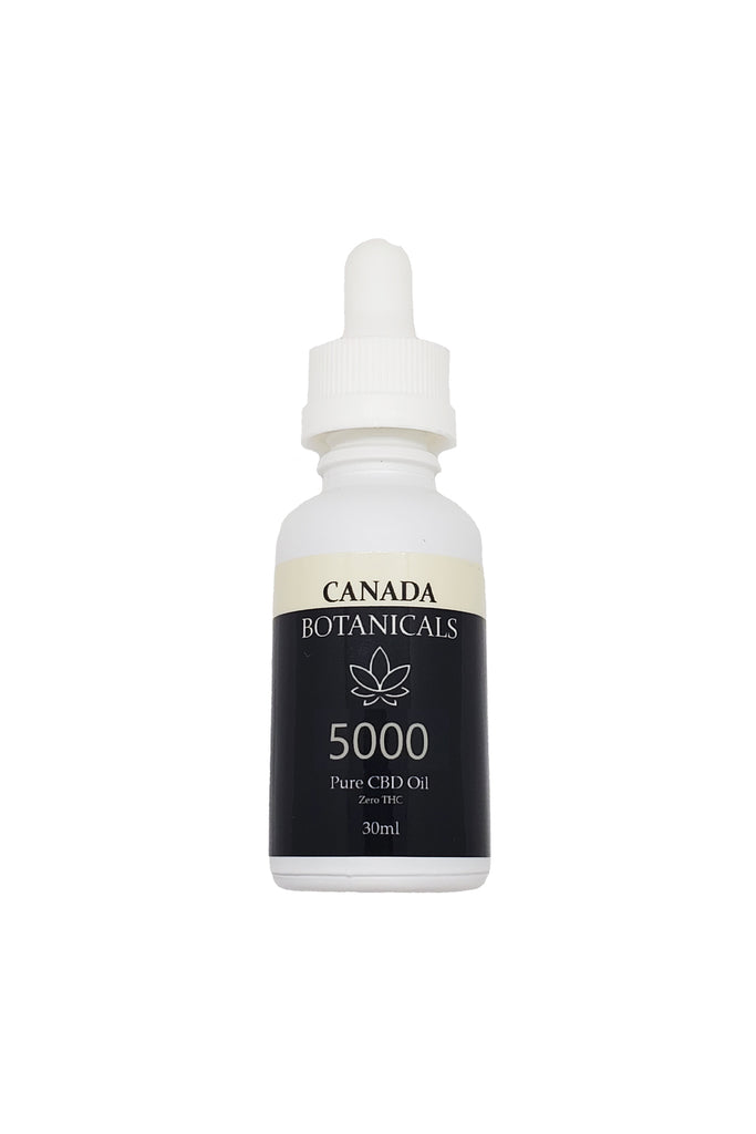 Pure CBD Oil 5000mg Zero THC