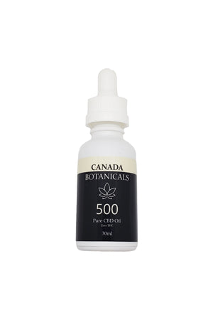 Pure CBD Oil 500mg Zero THC