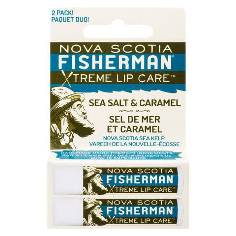 Lip Balm Double Pack - Sea Salt N' Caramel
