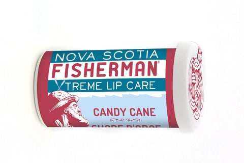 Limited Edition! Nova Scotia Fisherman Candy Cane Lip Balm